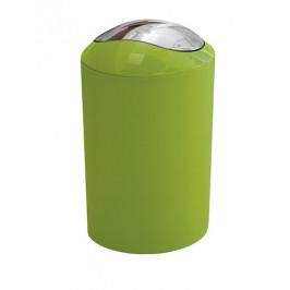 Odpadkový kôš voľne stojaci Kleine Wolke Glossy 5 l zelená 5063625858