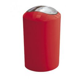Odpadkový kôš voľne stojaci Kleine Wolke Glossy 5 l červená 5063466858