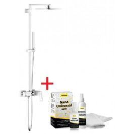 Sprchový systém Grohe s pákovou batériou, 1 funkcia, hranatý dizajn SIKOBGSSPB