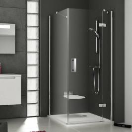 Sprchové dvere Ravak Serie 700 jednokrídlové 90 cm, sklo číre, chróm profil, pravé SMSD290TCRPB