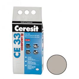 Škárovacia hmota Ceresit CE 33 šedá 2 kg CG1 CE33207