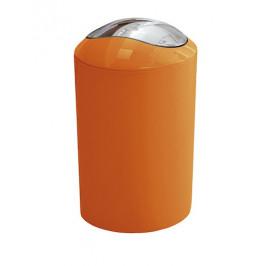 Odpadkový kôš voľne stojaci Kleine Wolke Glossy 5 l oranžová 5063488858