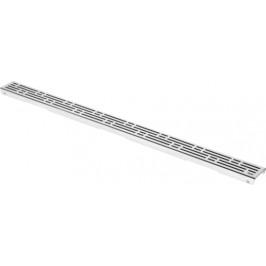 Rošt 100 cm Tece Drainline nerez lesk 601010