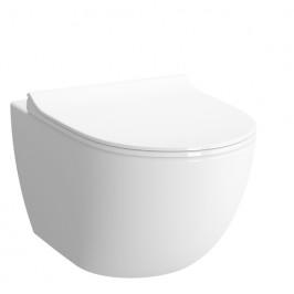 Závesné WC Vitra Shift, zadný odpad, 54cm RN010REX