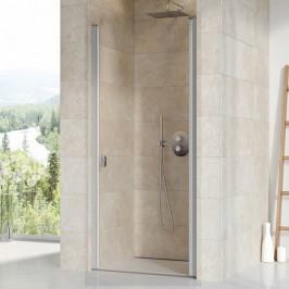 Sprchové dvere Ravak Chrome jednokrídlové 90 cm, sklo číre, satin profil CSD190TS