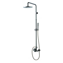 Sprchový systém Wf Industrial s pákovou batériou, oblý SIKOBWFSSS