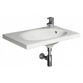Nábytkové umývadlo Jika Tigo 65x38,5 cm, otvor pre batériu vpravo 1221.6.000.106.1