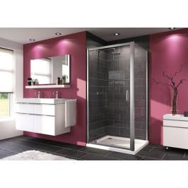 Sprchové dvere Huppe Next jednokrídlové 90 cm, sklo číre, chróm profil 140703.069.322