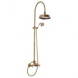 Sprchový systém Paffoni Retro Shower, 1 funkcia ZCOL000BR