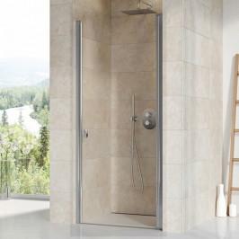 Sprchové dvere Ravak Chrome jednokrídlové 80 cm, sklo číre, chróm profil CSD180TCR