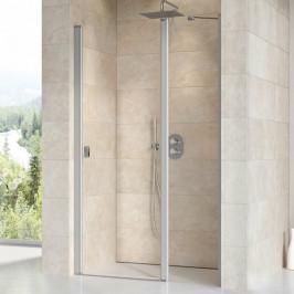 Sprchové dvere Ravak Chrome jednokrídlové 100 cm, sklo číre, chróm profil CSD2100TCR