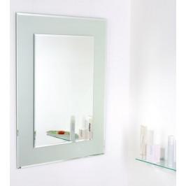 Zrkadlo s fazetou Amirro Snowqueen 60x80 cm šedá 711-447