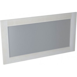 Zrkadlo Naturel Provence 130 cm, biela SIKONSB062