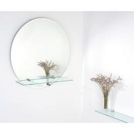Zrkadlo Georgina 60x60 cm, s poličkou ZJI60F