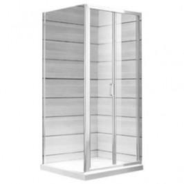 Sprchové dvere 90x190 cm Jika Lyra plus biela H2553820006681
