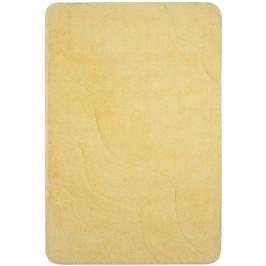 Kúpeľňová predložka akryl Optima 60x90 cm, žltá PRED007