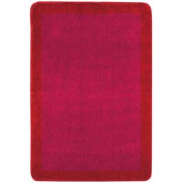 Kúpeľňová predložka akryl Optima 60x90 cm, červená PRED013