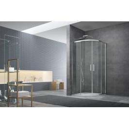 Sprchový kút Anima Tex štvrťkruh 100 cm, R 550, sklo číre, chróm profil, univerzálny SIKOTEXS100CRT