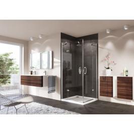 Sprchové dvere Huppe Strike jednokrídlové 90 cm, sklo číre, chróm profil, pravé 430402.092.322