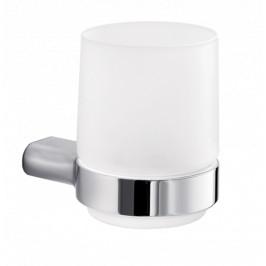 Držiak pohárov Inda Mito mliečne sklo A20100CR21
