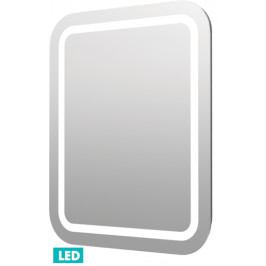 Naturel Zrkadlo s osvetlením led Iluxit 60x70 cm IP44, s vykurovacou fóliou a senzoro ZIL6070KTLEDS
