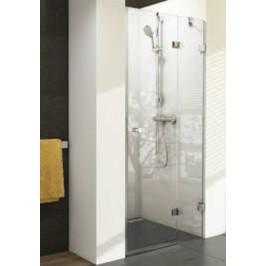 Sprchové dvere 90x195 cm pravá Ravak Brilliant chróm lesklý 0UP7AA00Z1