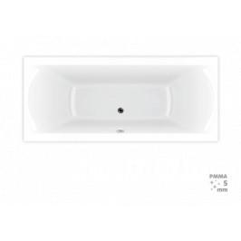 Obdĺžniková vaňa Laguna Cube Way Plus 150x70 cm, 100% akrylát, 240 l CUB1500PLUS