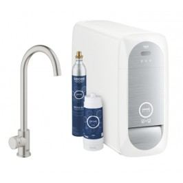 Grohe GROHE Blue Home Mono pillar tap C-spout G31498DC0