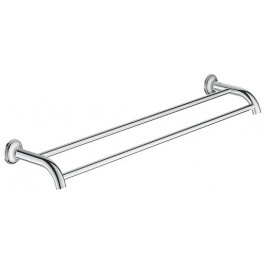 Grohe Essentials Auth Double Towel Bar 582mm G40654001