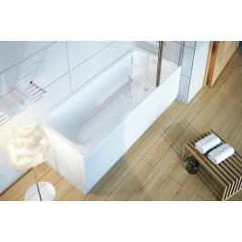 Ravak Panel bočný Chrome 75 cm biely CHRPB75