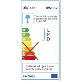 Sapho RIWA gal.s LED osv.,60x70x17cm,B RW062