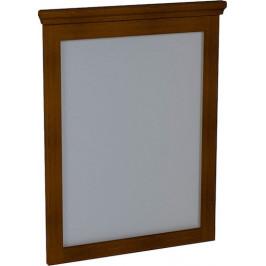 Sapho SAPHO-CROSS zrkadlo 60x80x3,5cm, mahagon CR011