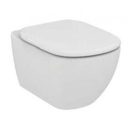 Závesný WC so sedadlom softclose Ideal Standard Testra, zadný odpad, 53cm SIKOSIST3529