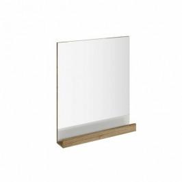 Ravak Zrcadlo 10° 650 tmavý ořech ZRC10650TOR