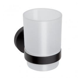 Bemeta Držiak pohárikov Noir, čierna OPTIMANOIR27