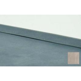 Tesniaca lišta Naturel 400 cm betón 330.WAP400