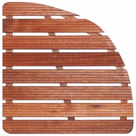 Aris Sprchová rohož-drevo štvrťkruh 74x74x4cm ROHOZ90S