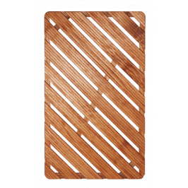 Aris Sprchová rohož-drevo 100x60x4cm ROHOZ12080
