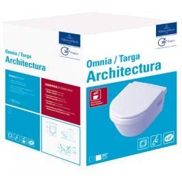 Závesné WC so sedadlom softclose Villeroy & Boch Omnia Architectura, zadný odpad 5684H101
