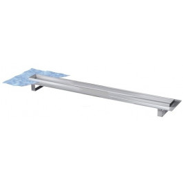 Sprchový žľab 120 cm Tece Drainline nerez 601200