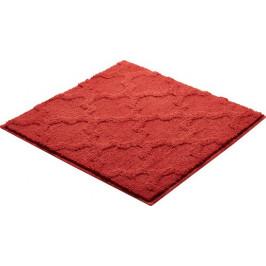Kúpeľňová predložka polyester Grund 55x55 cm, červená SIKODGNAN557