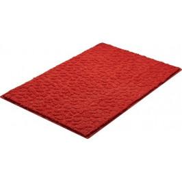 Kúpeľňová predložka polyester Grund 90x60 cm, červená SIKODGSTE607