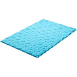 Kúpeľňová predložka polyester Grund 90x60 cm, modrá SIKODGLIS605