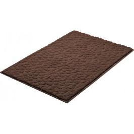 Kúpeľňová predložka polyester Grund 90x60 cm, hnedá SIKODGSTE604