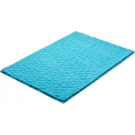 Kúpeľňová predložka polyester Grund 90x60 cm, modrá SIKODGSTE605