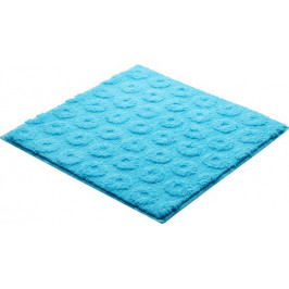 Kúpeľňová predložka polyester Grund 55x55 cm, modrá SIKODGLIS555