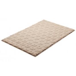 Kúpeľňová predložka polyester Grund 90x60 cm, béžová SIKODGLIS602