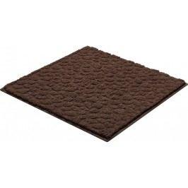 Kúpeľňová predložka polyester Grund 55x55 cm, hnedá SIKODGSTE554