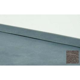 Tesniaca lišta Naturel 400 cm granit 115.WAP400