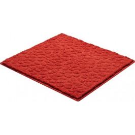 Kúpeľňová predložka polyester Grund 55x55 cm, červená SIKODGSTE557
